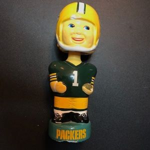 Vintage 60's Greenbay Packers Bobblehead